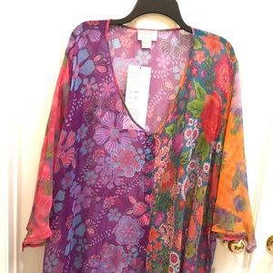 Tops - Raiment fashions inc.  sheer Women Blouse 3x